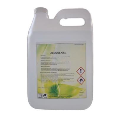 Álcool Gel Desinfetante de Mãos 5 Litros
