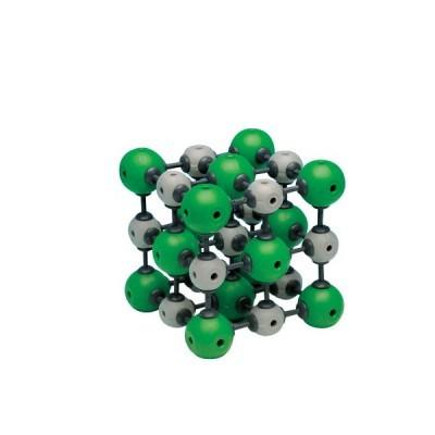 Modelo Cristalino de Cloreto de Sódio