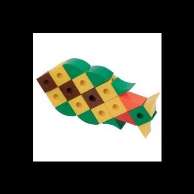 Cubos em formas e coloridos