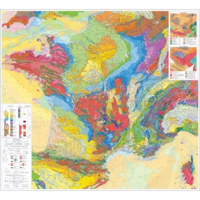 Mapa Geológico da França
