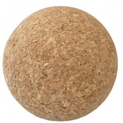 Esfera em aglomerado de cortiça com 8cm de diâmetro