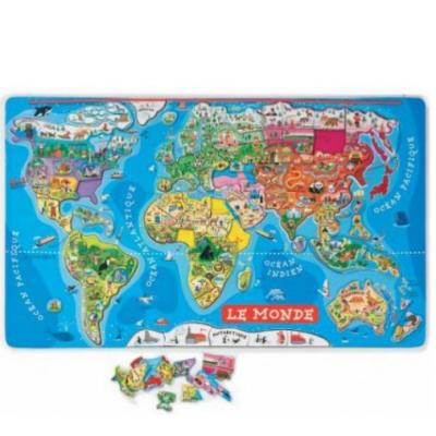 Puzzle Magnéticos do Mundo