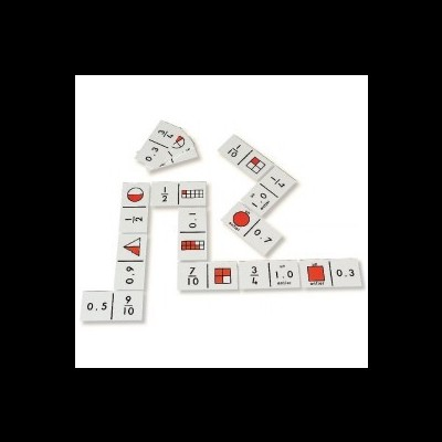 Domino das Frações e Números Decimais