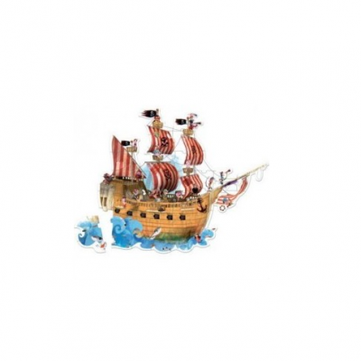 Puzzle Sol - Navio Pirata