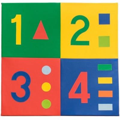Tapete números com 150x150x3cm