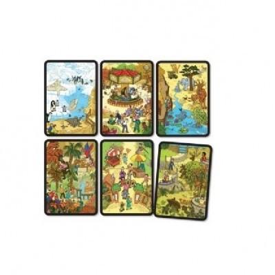 Puzzle de Associação - jardim Zoológico
