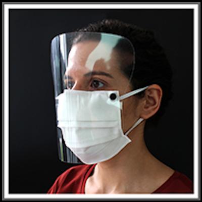 Máscara Facial Lavável com Viseira