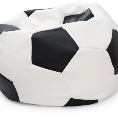 Puff  bola futebol com 100cm diâmetro