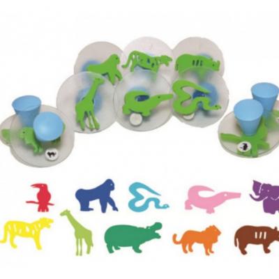10 selos de animais selvagens
