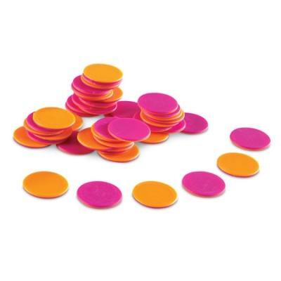 200 peças redondas coloridas