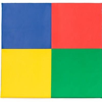 Tapete 4 cores com 130x130x3cm