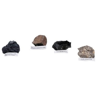 Caixa de 4 Rochas Magmáticas