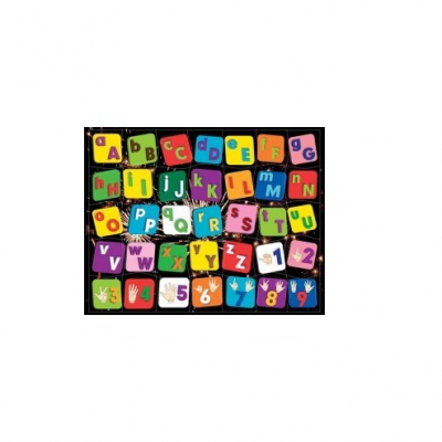 Puzzle Magnético - Alfabeto e Números