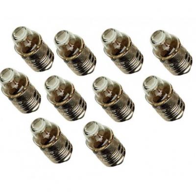 10 lâmpadas 1,2 V - 0,22 A - base E10