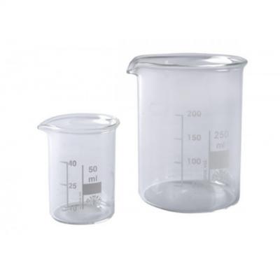 Taças graduadas em vidro - 50 ml