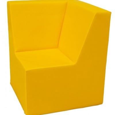 Sofá de canto com 50x50x60cm