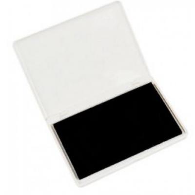 Almofada de tinta preta grande