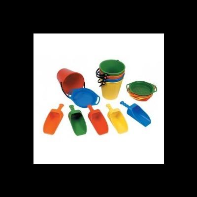 Conjuntos de 5 peças em plástico
