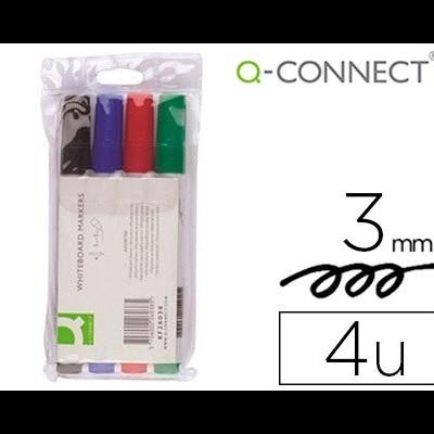 Marcadores Q-CONNECT para quadros brancos