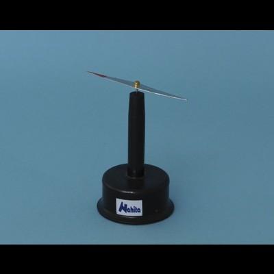 Porta agulha magnético