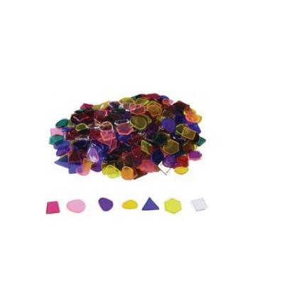 Formas Geométricas em Plástico Translúcido