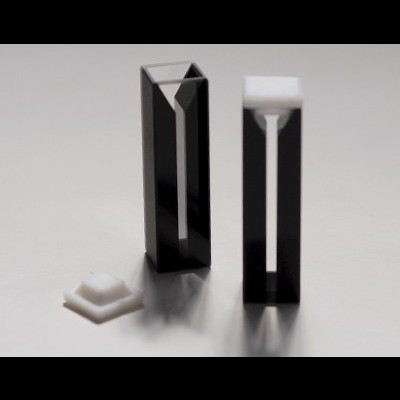 Cubeta semi-micro de vidro, 5 mm