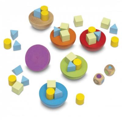 Equilíbrio em formas geométricas