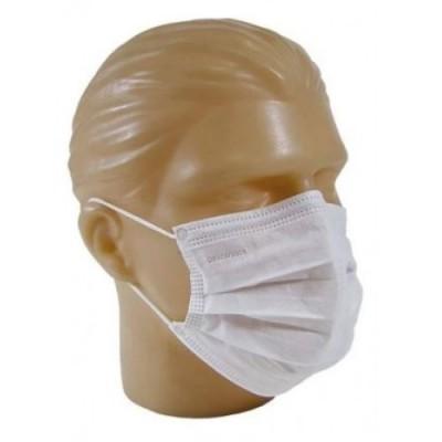 Máscara Facial de Proteção Descartável