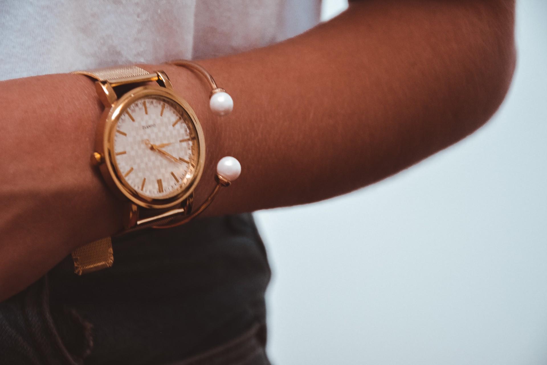 Relógio - Gold