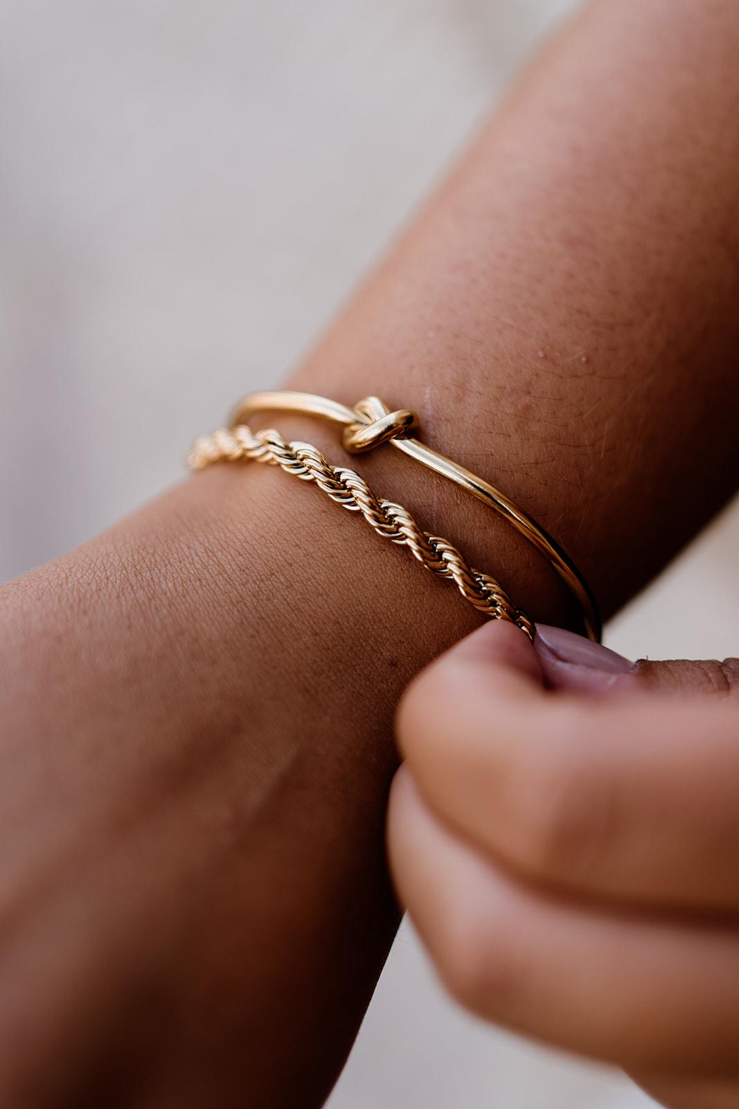 Pulseiras em aço - Gold