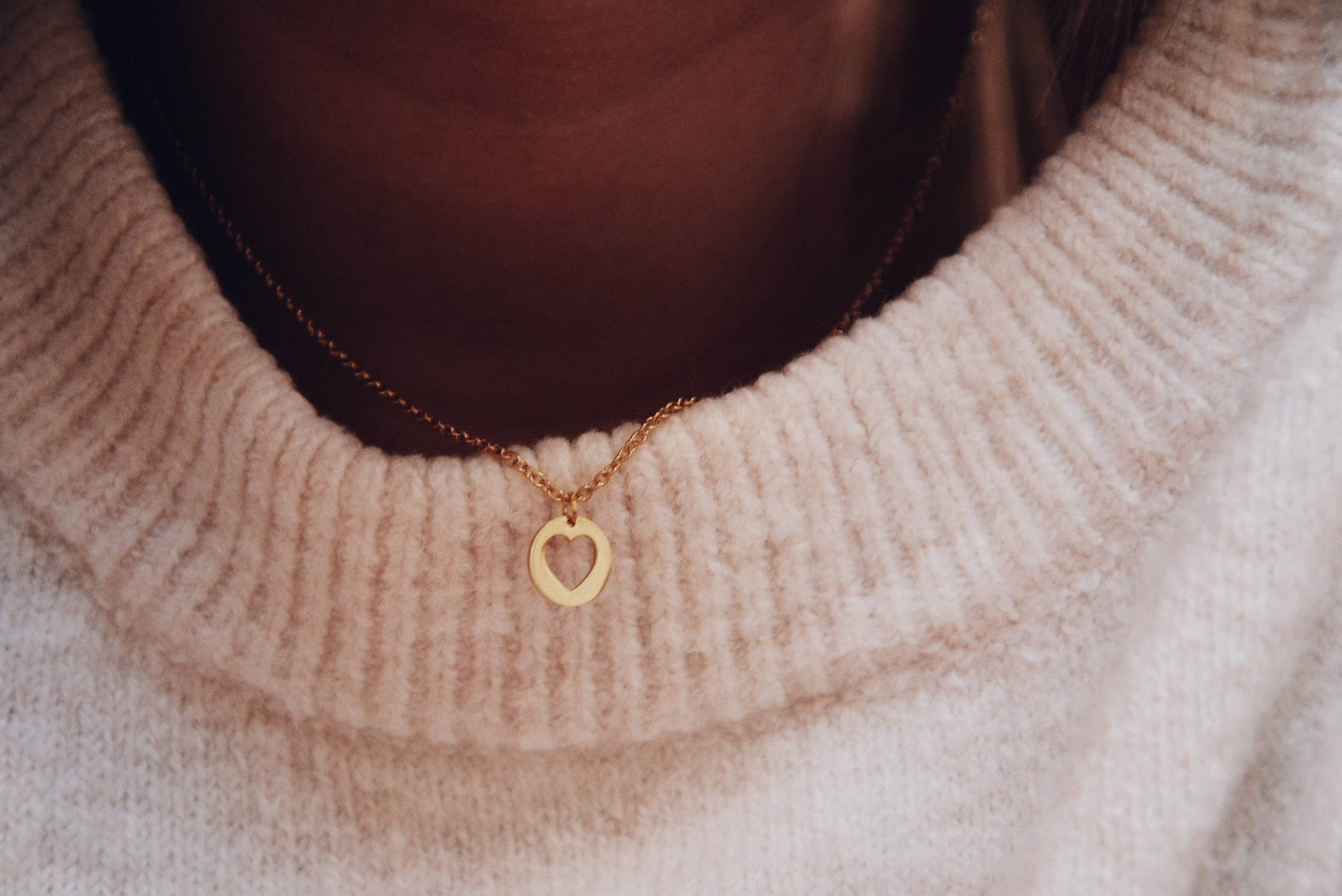 Colar em aço - Little Heart