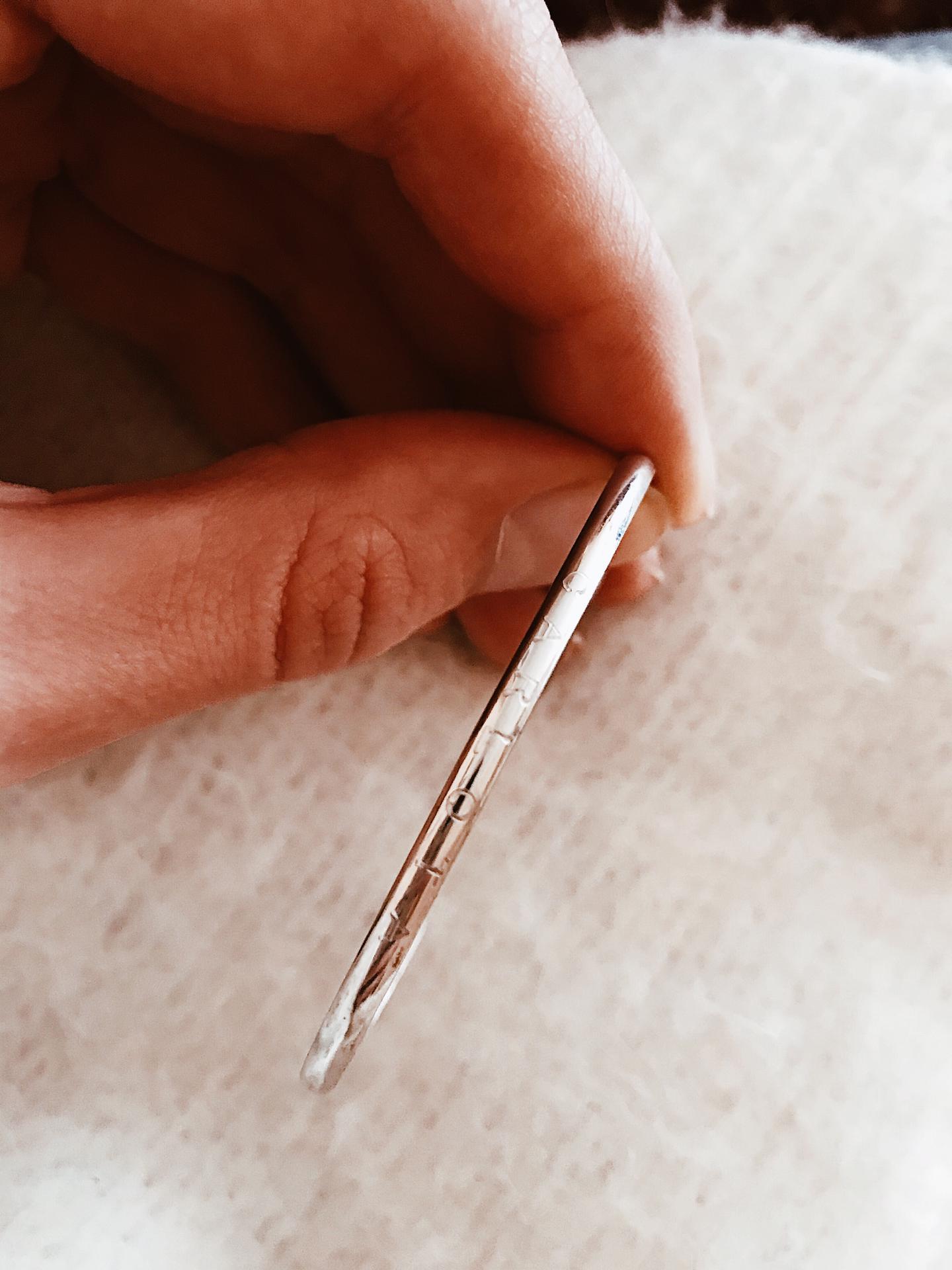 Pulseira em prata - Victoria