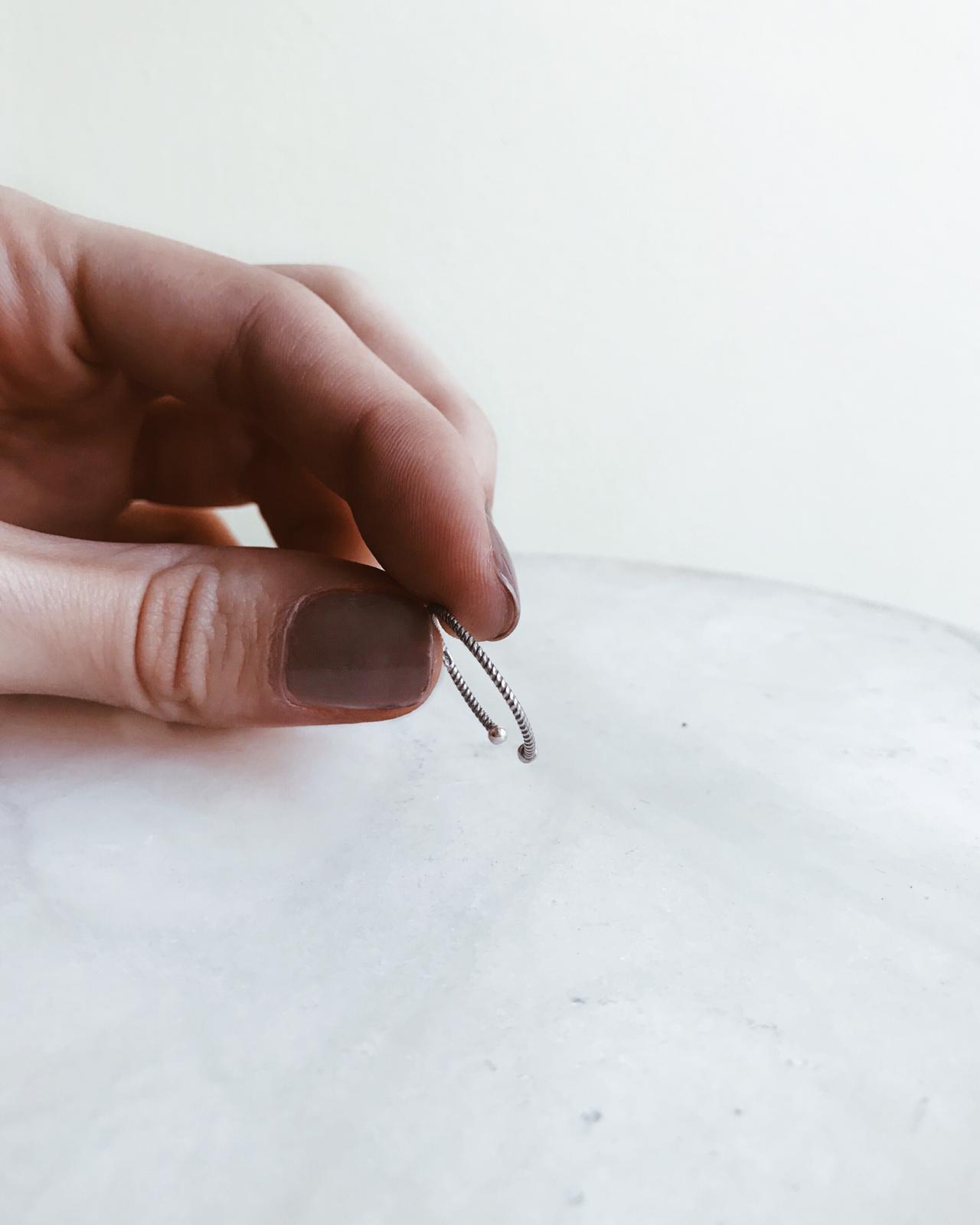 Anel em prata - Simple Dots