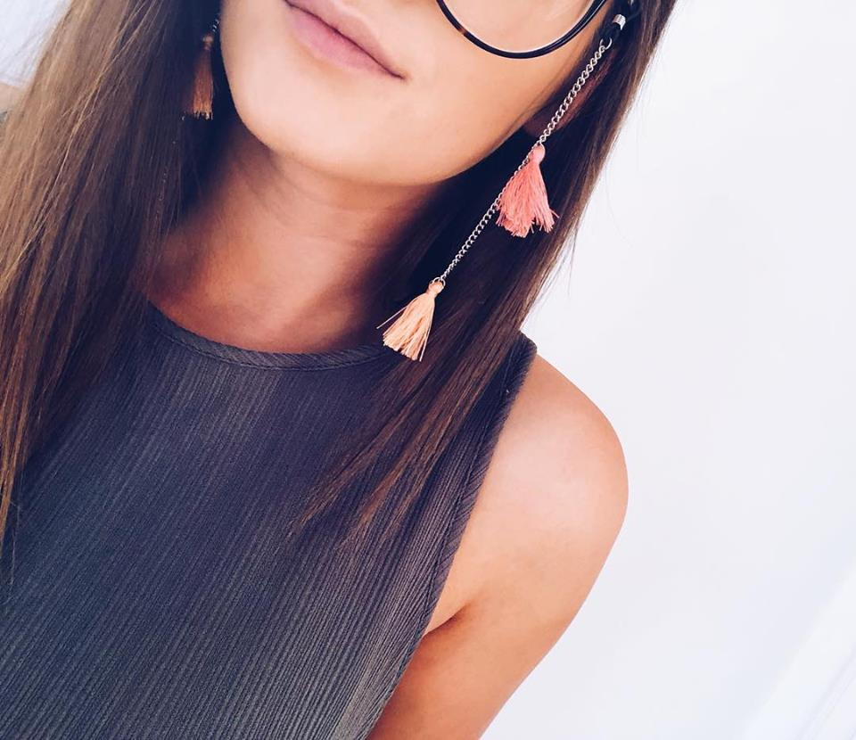 Fita para óculos - Pompons