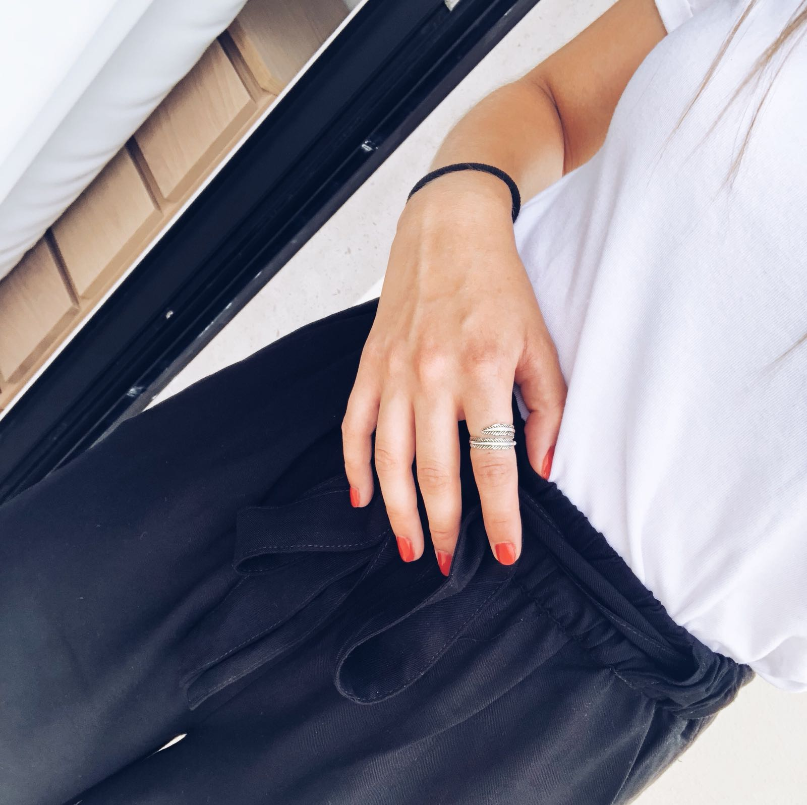 Anel - Leaf ring