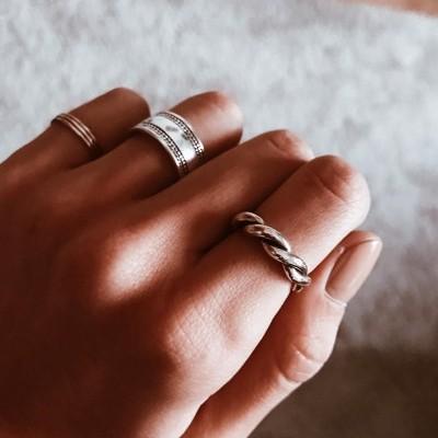 Anéis em prata
