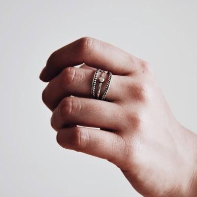 Anel em prata - Hope