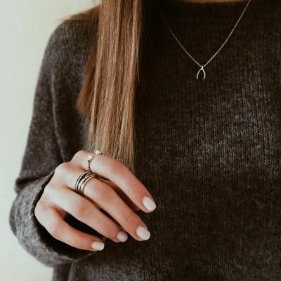 Anéis em prata - Cheer