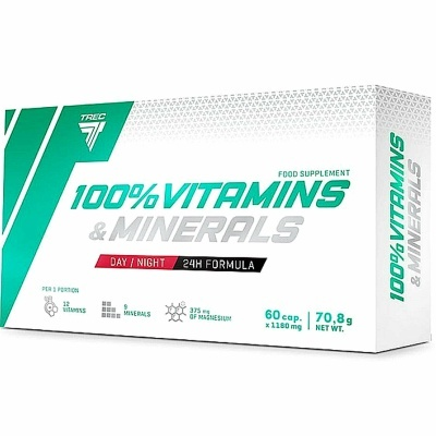 100% VITAMINAS & MINERAIS - 60 CÁPSULAS