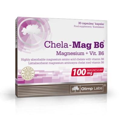 MAGNESIO QUELATOS B6 - 30 CÁPSULAS