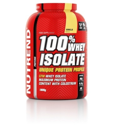 100% WHEY ISOLADA - 1800GR