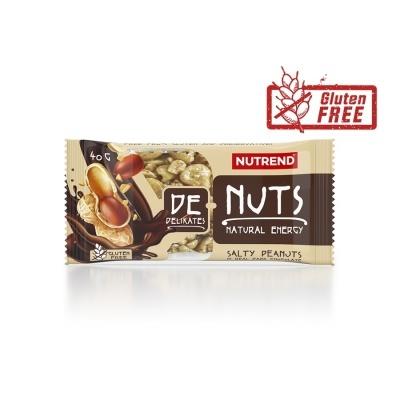 DE NUTS CHOCOLATE - 40GR