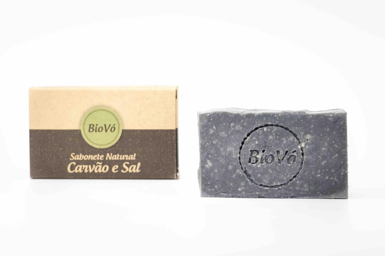 Sabonete Natural Carvão e Sal