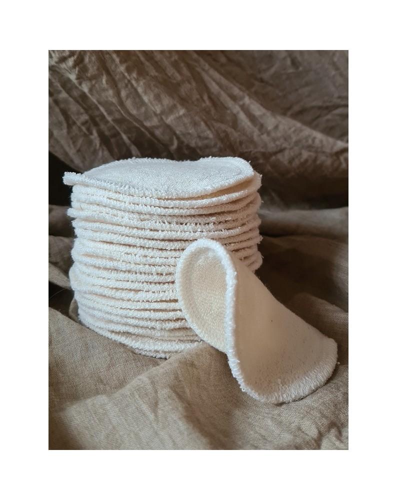 Discos desmaquilhantes reutilizáveis de algodão Puppi (1 UND)