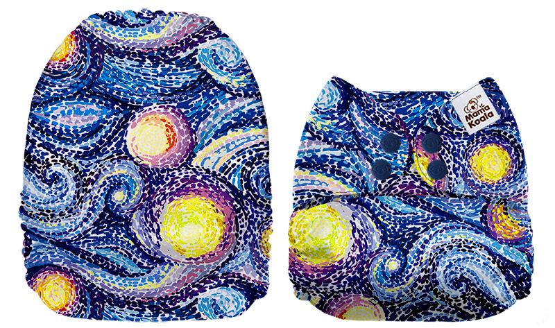 Fralda de Bolso Mama Koala - Céu estrelado 1