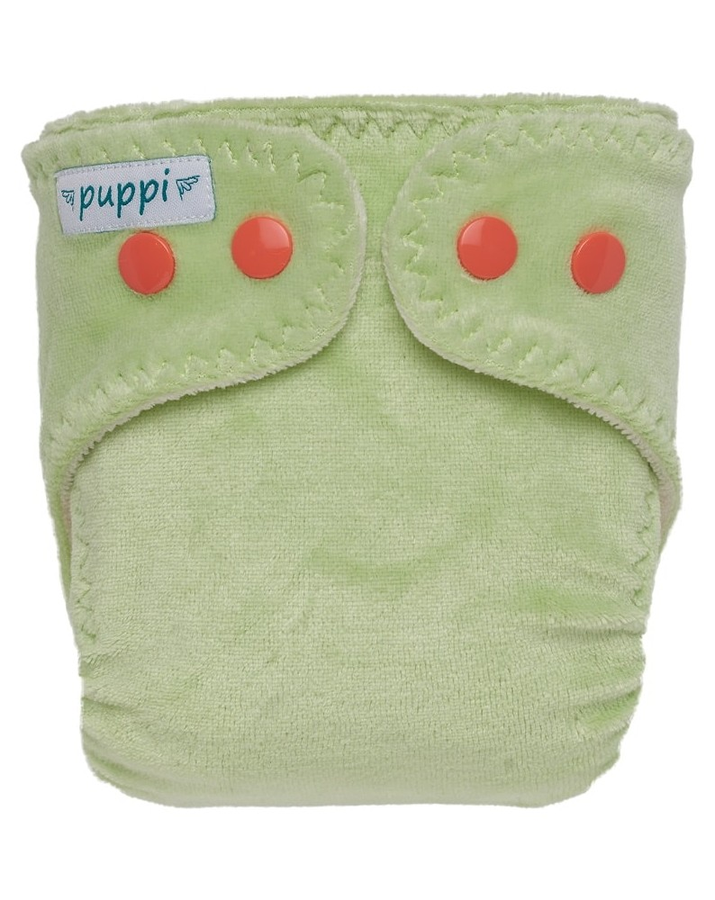"Fralda ajustada newborn ""Chilling Mint"" Puppi Molas (2.5kg - 4.5 kg)"
