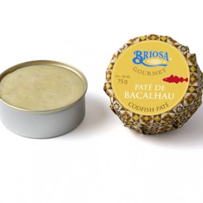 Paté de Bacalhau em Azeite Oliveira