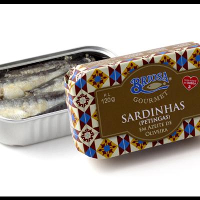 Sardinhas (Petingas) em azeite de oliveira