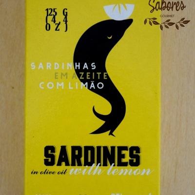 Sardinhas em Azeite Com Limão AtiManel