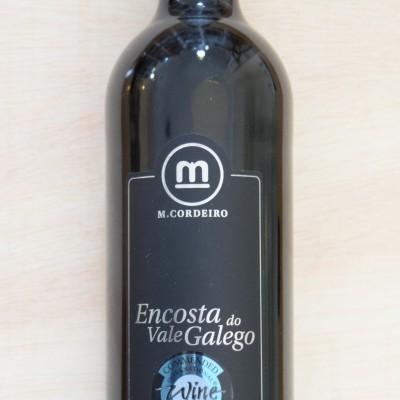 """Vinho Tinto """"Encosta do Vale Galego"""" castas Aragonez + Syrah"""